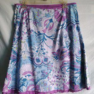 Vintage🌺Nine & Co. Short Cotton Skirt🌺EUC, 12P